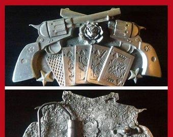 Pewter Belt Buckle