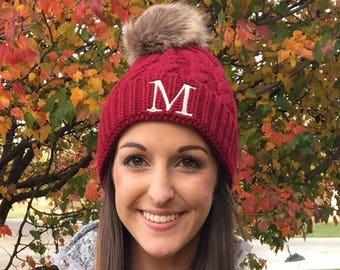 eeacfde9b48 Monogram knit hat