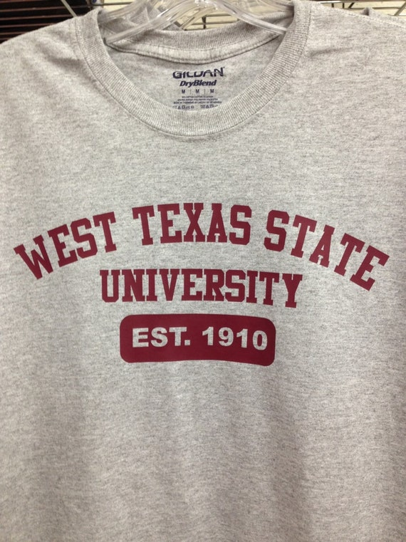 WTSU alumni Shirt Sweatshirt West Texas State University  b651c5327b78
