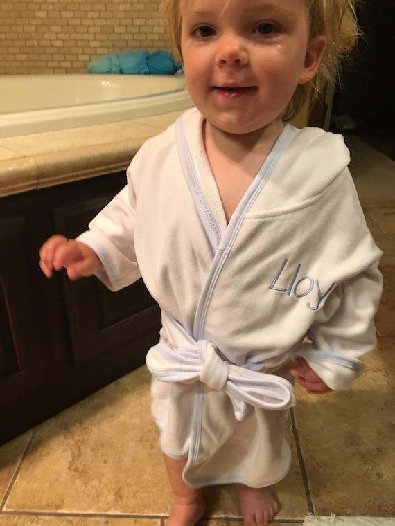 8d3982d34c5dc3 Baby bath robe monogrammed baby boy 1st Birthday Gift | Etsy