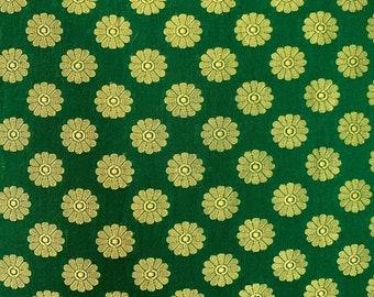 Forest Green Banaras Silk Cushion Cover, Silk Decorative Throw Pillow Cover, Olive+Gold Silk Handmade Throw Pillow, Euro Shams Pillow Covers