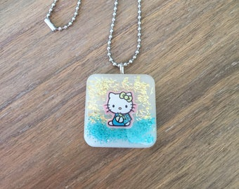Childrens Hello Kitty Necklace