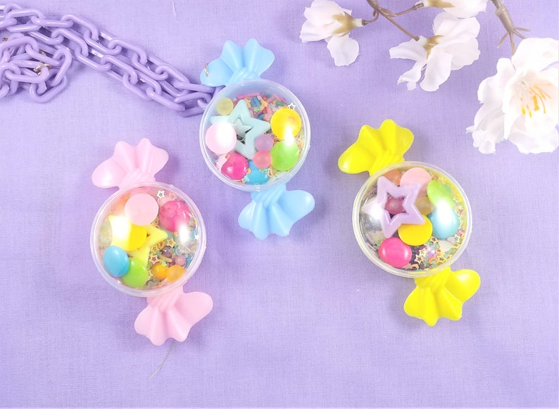I heard you like candy Necklace OR 2 way Clip sprinkle shaker image 0