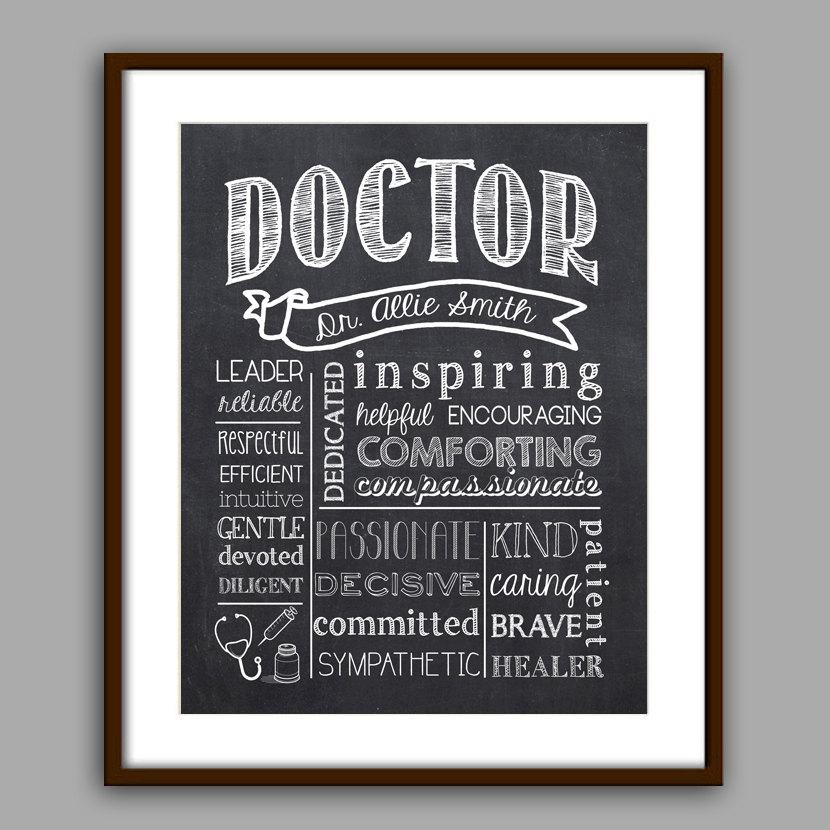 Arzt Arzt Absolvent Geschenk Geschenk Arzt | Etsy