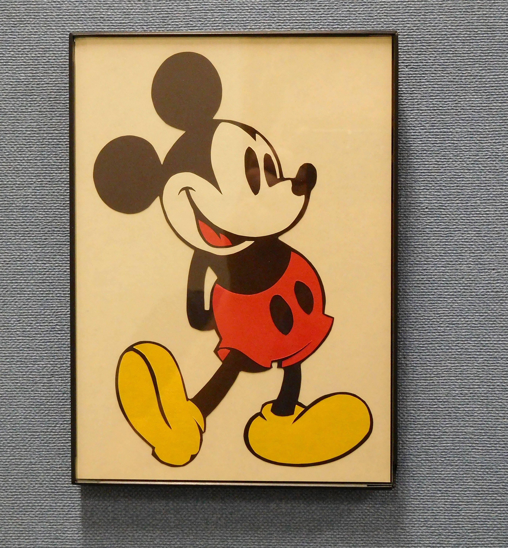 Cartoon Character Wall Art Hand Made Mickey Tweety Winnie the | Etsy