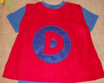 Cape shirts - Personalized super hero cape t-shirt
