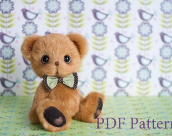Pattern - Artist Teddy bear Robin
