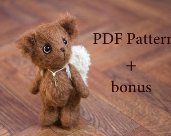 Pattern - Artist Teddy bear Anri