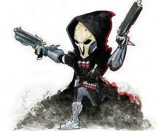 Reaper Overwatch Fan Art