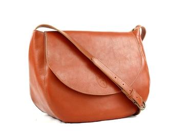 LEATHER CROSSBODY BAG, Woman's leather bag, Handbags, Custom bag, Shoulder bag, For her, Woman bag, Handmade bags, Anniversary gift