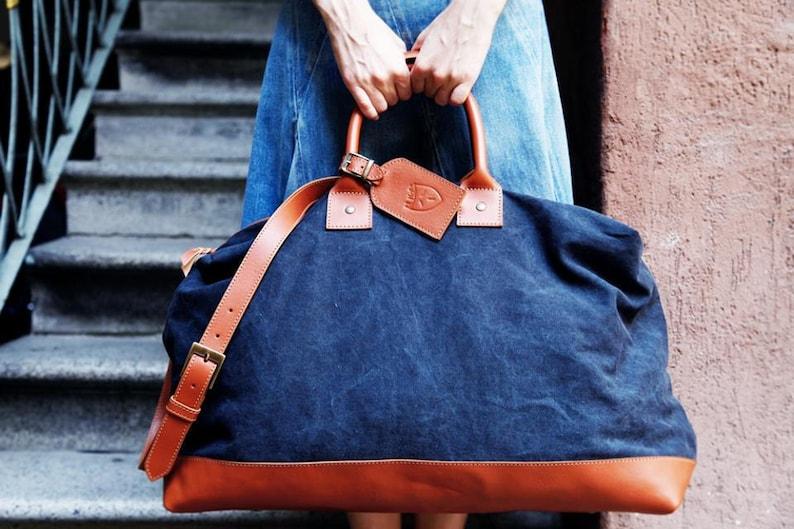 Overnight leather LUXURY BAG image 0