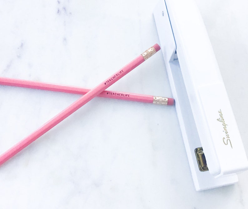 #2 Pencil TeacherLife Pencil Set Teacher Stationary