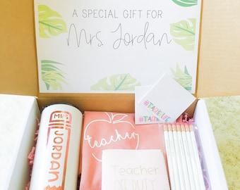 Teacher Gift Box | Personalized Teacher Gift Set