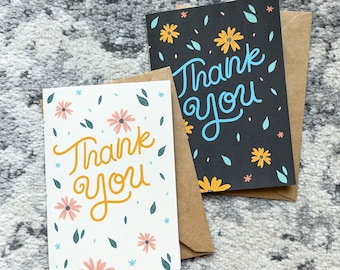 Thank You - 5x7 Blank Card Pack