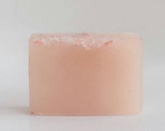 heal   face + body   organic   ultra healing facial cleanser   soap   sensitive skin   himalayan sea salt Infused