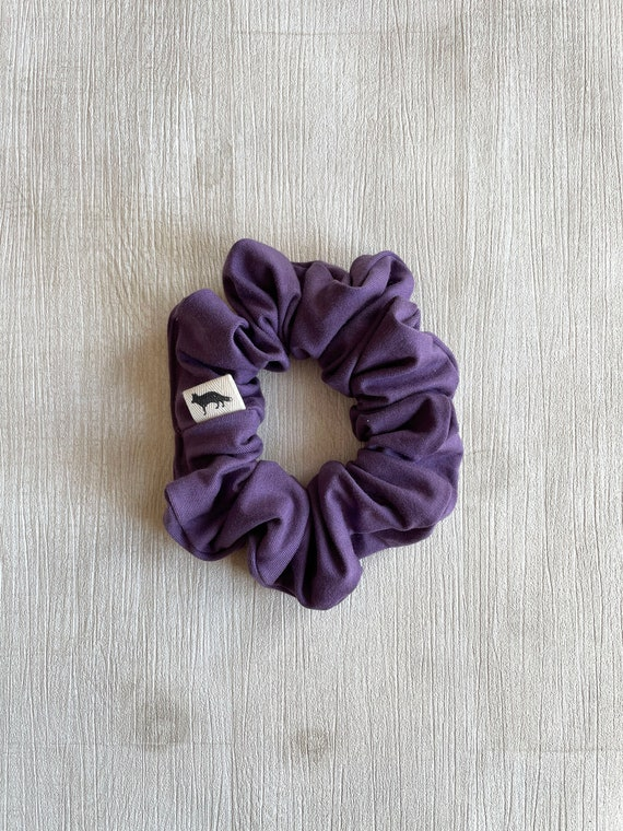 Scrunchies // Mauve Bamboo // Available in three different sizes// Made in Canada