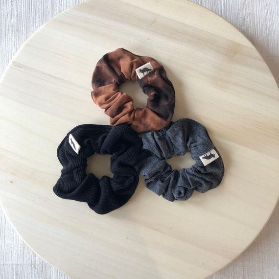 Scrunchies // Tie-Dye // Set of Three MINI Scrunchies // Made in Canada