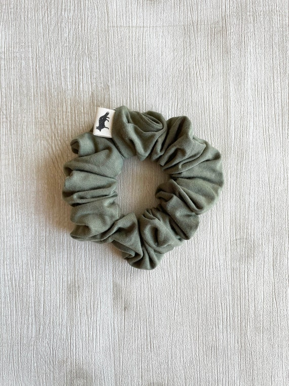 Scrunchies // Sage Bamboo // Available in three different sizes// Made in Canada