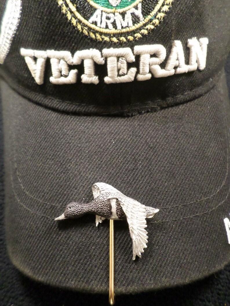 McCloud9 wildlife Hat Hook,Clip { Ringneck Duck}