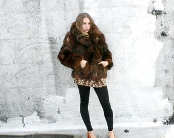 166ed9449b0 1980 s Foxy Lady Fur Coat~ small