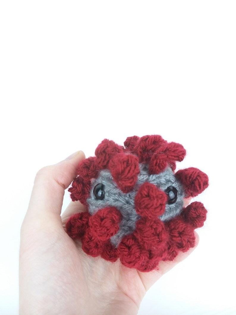 Baby Coronavirus Amigurumi  Made To Order image 0