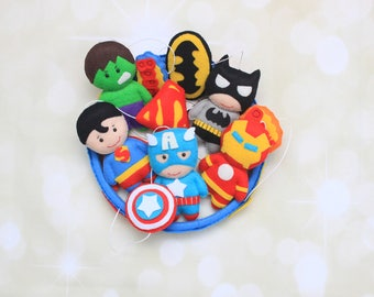 Avengers mobile crib mobile Marvel nursery super hero mobile baby felt mobile cot mobile Superhero mobile Marvel mobile superhero nursery