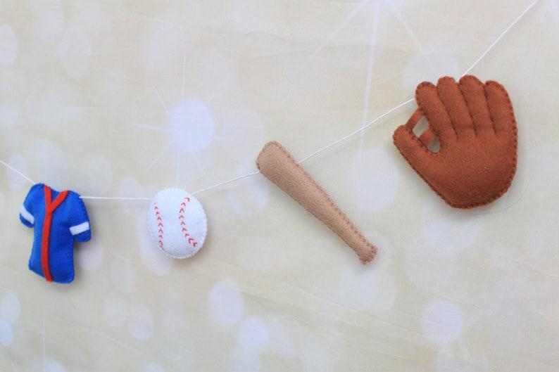 Baseball Birthday party decor Baseball banner Baseball garland Baseball bunting Baseball Photo Prop Sports nursery decor