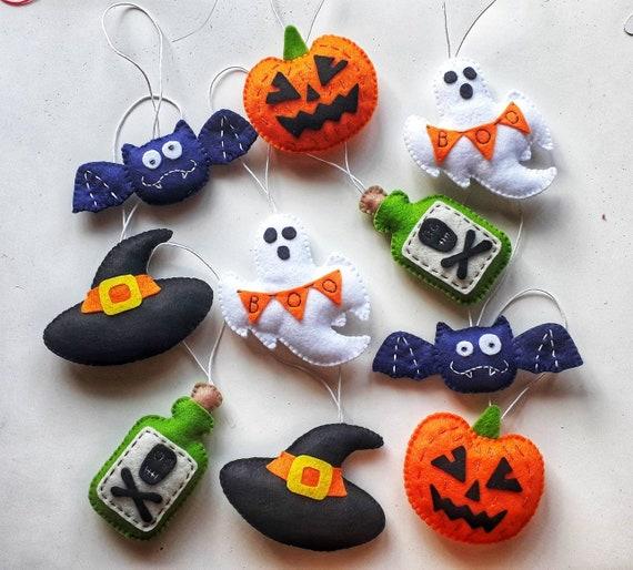 Halloween stuffed bat  keychain or spooky ornament