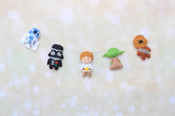 Star wars garland baby nursery decor force awakens bunting