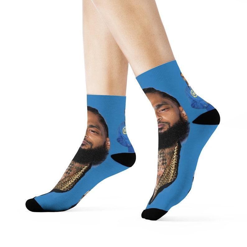 Nipsey Hussle Crew Socks image 0
