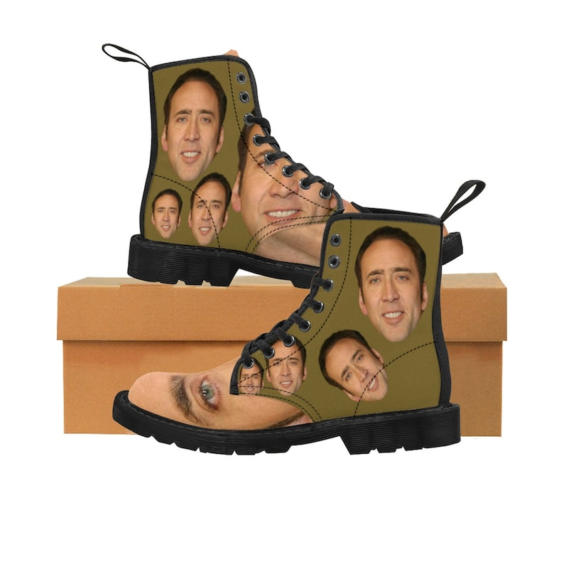 Women's Canvas Boots  Nick Cage image 0