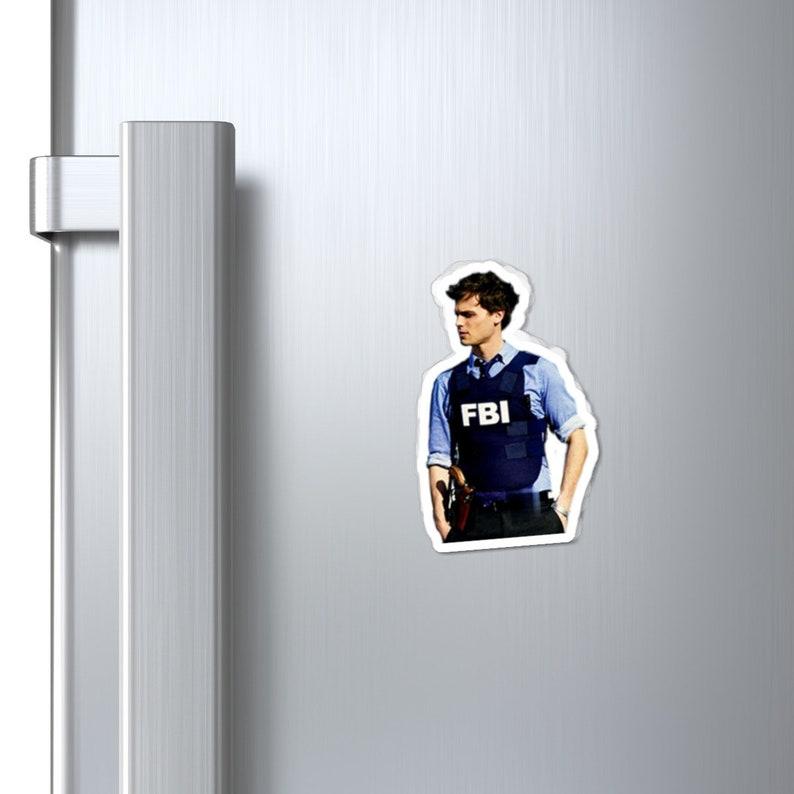 Criminal Minds Spencer Reid Magnets image 0