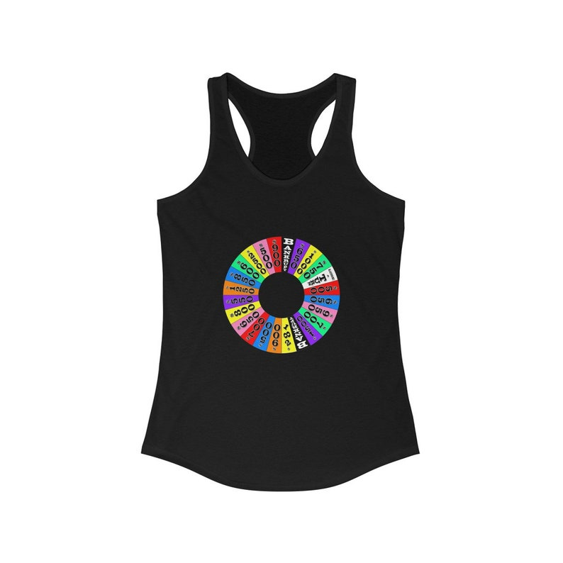 Women's Ideal Racerback Tank  The Wheel image 0