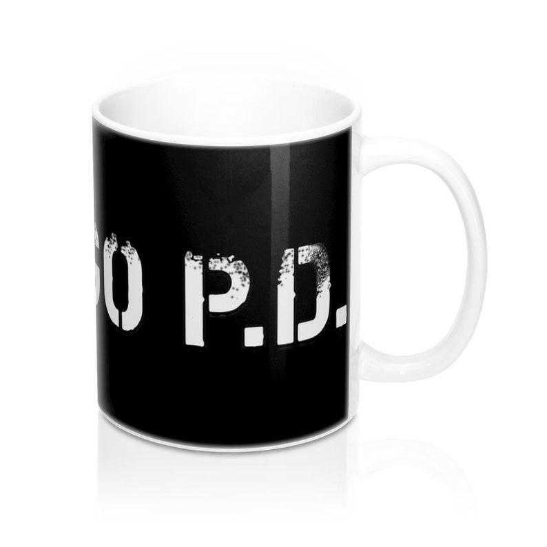 Chicago PD Mug 11oz Black image 0