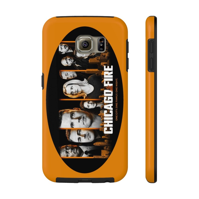 Chicago Fire Case Mate Tough Phone Cases  Fire Orange image 0