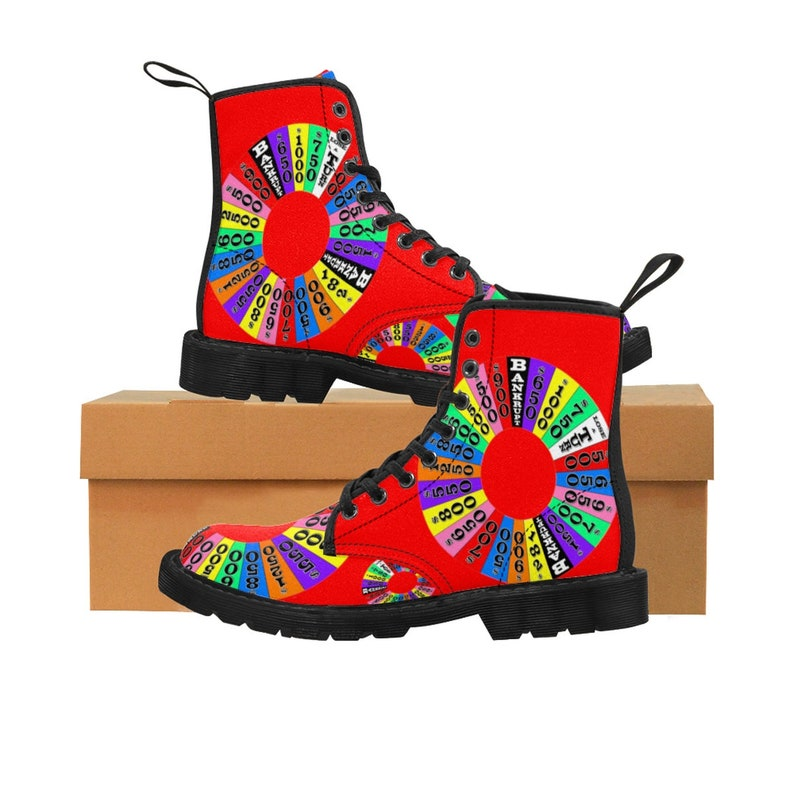 Women's Canvas Boots  The Wheel image 0