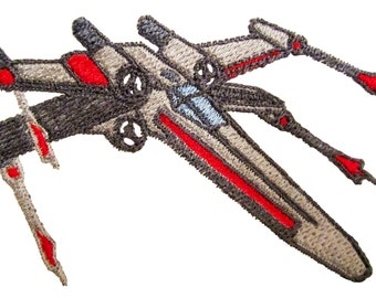 Star Wars X Wing Machine Embroidery Design in 2 sizes
