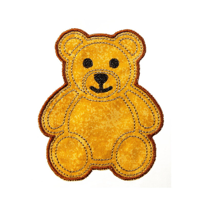 fd2bd06fd5a Teddy Bear Applique pattern instant download Machine