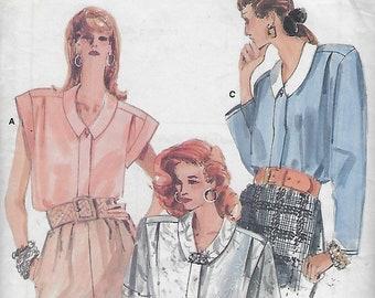Vogue 9916  Misses' / Half Size Shirt Size (14-18)