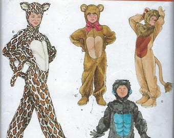 Simplicity 2855  Child's, Boys' And Girls' Costumes  Size (Xs-L)  UNCUT