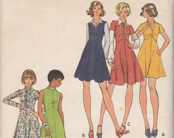 Butterick 3042  Misses' Dress & Jumper Sizes 14