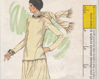 "Vogue 9341  Misses' Top And Skirt Size 14  Bust 36""  UNCUT"