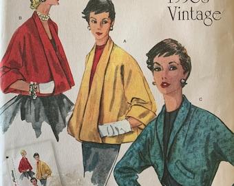 Uncut Pattern Retro 1950/'s Jacket Set Reprint Simplicity 1319