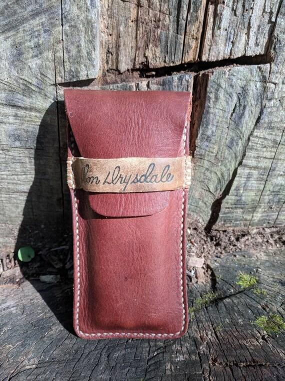 Don Zimmer Dodgers Yankees Vintage Baseball Glove Leather Minimalist Two Pocket Card Wallet Case