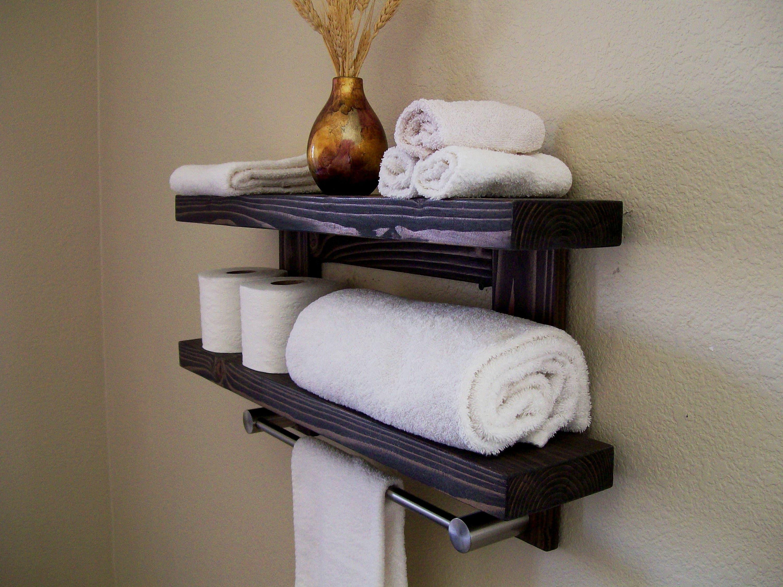 floating tablettes salle de bain plateau flottant tag re bois etsy. Black Bedroom Furniture Sets. Home Design Ideas