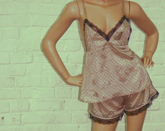Set of camisole and shorty