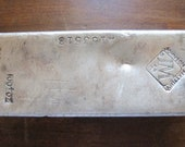 100 oz Silver Bar - Johnson Matthey Early 1970 Low serial number
