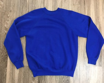 Royal blue sweater | Etsy