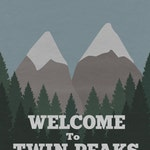 Welcome to Twin Peaks Poster (8x10, 11x17, or 13x19) TV Alternate