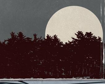 Reiden Lake - Fringe Poster TV (8x10, 11x17, or 13x19)